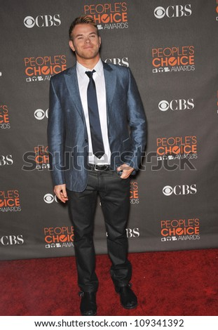 LOS ANGELES, CA - JANUARY 6, 2010: Kellan Lutz at the 2010 People's Choice Awards at the Nokia Theatre L.A. Live.
