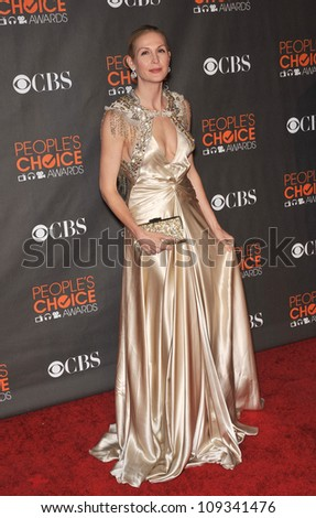 LOS ANGELES, CA - JANUARY 6, 2010: Kelly Rutherford at the 2010 People's Choice Awards at the Nokia Theatre L.A. Live in Los Angeles.
