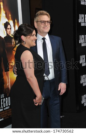 "LOS ANGELES, CA - JANUARY 15, 2014: Kenneth Branagh at the Los Angeles premiere of his movie ""Jack Ryan: Shadow Recruit"" at the TCL Chinese Theatre, Hollywood."