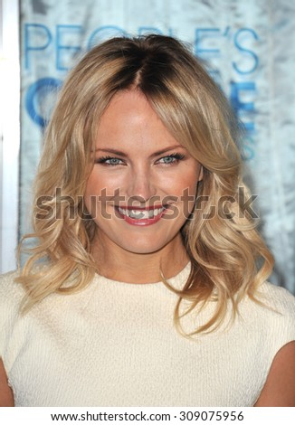 LOS ANGELES, CA - JANUARY 5, 2011: Malin Akerman at the 2011 Peoples' Choice Awards at the Nokia Theatre L.A. Live in downtown Los Angeles.  - stock photo