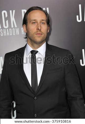 "LOS ANGELES, CA - JANUARY 15, 2014: Seth Ayott at the Los Angeles premiere of his movie ""Jack Ryan: Shadow Recruit"" at the TCL Chinese Theatre, Hollywood."
