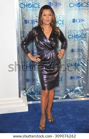 LOS ANGELES, CA - JANUARY 5, 2011: Vanessa Williams at the 2011 Peoples' Choice Awards at the Nokia Theatre L.A. Live in downtown Los Angeles.  - stock photo