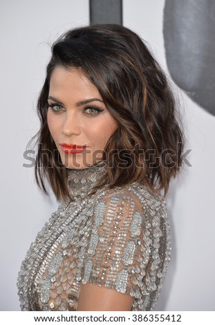 "LOS ANGELES, CA - JUNE 25, 2015: Jenna Dewan Tatum at the world premiere of ""Magic Mike XXL"" at the TCL Chinese Theatre, Hollywood. - stock photo"
