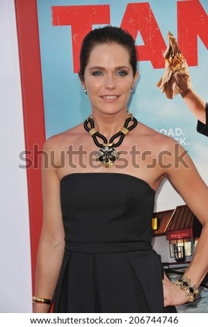 "LOS ANGELES, CA - JUNE 30, 2014: Katie Aselton at the premiere of ""Tammy"" at the TCL Chinese Theatre, Hollywood.  - stock photo"