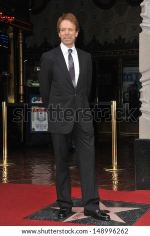 LOS ANGELES, CA - JUNE 24, 2013: Producer Jerry Bruckheimer on Hollywood Boulevard where Jerry Bruckheimer was honored with the 2,501st star on the Hollywood Walk of Fame.  - stock photo