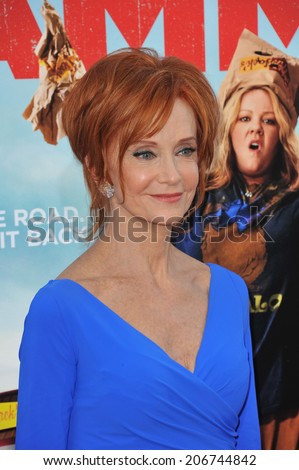 "LOS ANGELES, CA - JUNE 30, 2014: Swoosie Kurtz at the premiere of ""Tammy"" at the TCL Chinese Theatre, Hollywood.  - stock photo"