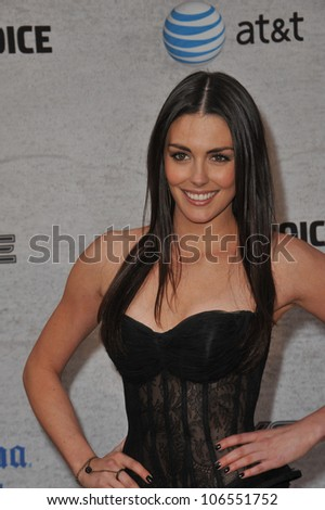 LOS ANGELES, CA - JUNE 4, 2011: Taylor Cole at Spike TV's Guys Choice Awards 2011 at Sony Studios, Culver City, CA. June 4, 2011  Los Angeles, CA - stock photo