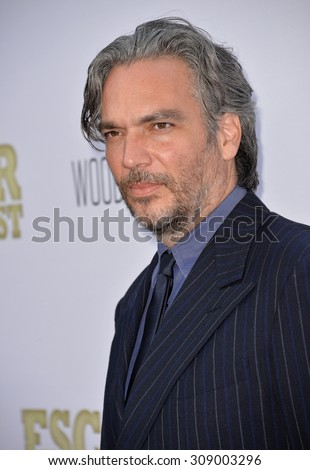 """LOS ANGELES, CA - JUNE 22, 2015: Writer/director Andrea Di Stefano at the Los Angeles premiere of his movie """"Escobar: Paradise Lost"""" at the Arclight Theatre, Hollywood.   - stock photo"""