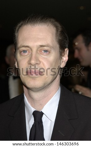 LOS ANGELES, CA - MARCH 9, 2002: Actor STEVE BUSCEMI at the 54th Annual Directors Guild Awards in Beverly Hills.