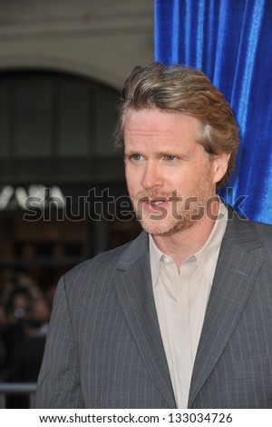 """LOS ANGELES, CA - MARCH 11, 2013: Cary Elwes at the world premiere of """"The Incredible Burt Wonderstone"""" at the Chinese Theatre, Hollywood. - stock photo"""