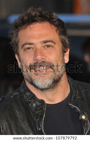"LOS ANGELES, CA - MARCH 31, 2010: Jeffrey Dean Morgan at the Los Angeles premiere of ""Clash of the Titans"" at Grauman's Chinese Theatre, Hollywood. - stock photo"