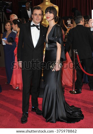 LOS ANGELES, CA - MARCH 2, 2014: Karen O at the 86th Annual Academy Awards at the Dolby Theatre, Hollywood.