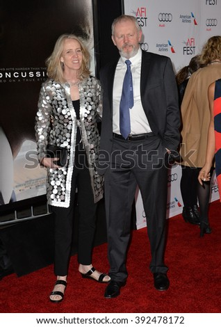 "LOS ANGELES, CA - NOVEMBER 10, 2015: Actor David Morse at the premiere of his movie ""Concussion"" at the TCL Chinese Theatre"