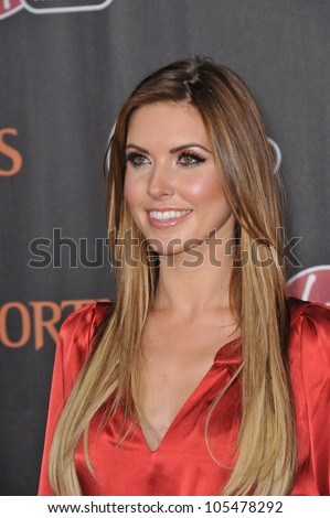 "LOS ANGELES, CA - NOVEMBER 7, 2011: Audrina Patridge at the world premiere of ""Immortals"" at the Nokia Theatre L.A. Live in downtown Los Angeles. November 7, 2011  Los Angeles, CA"