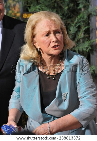 """LOS ANGELES, CA - NOVEMBER 19, 2014: Diane Ladd at the Los Angeles premiere of """"Wild"""" at the Samuel Goldwyn Theatre, Beverly Hills.  - stock photo"""