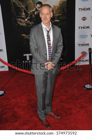 "LOS ANGELES, CA - NOVEMBER 4, 2013: Director Alan Taylor at the US premiere of his movie ""Thor: The Dark World"" at the El Capitan Theatre, Hollywood. Picture: Paul Smith / Featureflash - stock photo"