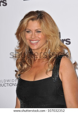 LOS ANGELES, CA - NOVEMBER 1, 2010: Kathy Ireland at the 200th episode party for Dancing With The Stars at Boulevard 3 in Hollywood.