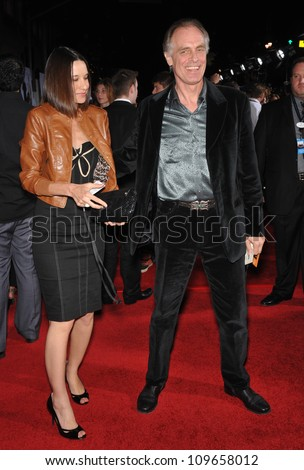 """LOS ANGELES, CA - NOVEMBER 9, 2009: Keith Carradine at the world premiere of Walt Disney's """"Old Dogs"""" at the El Capitan Theatre, Hollywood. - stock photo"""