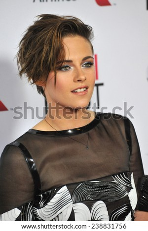 "LOS ANGELES, CA - NOVEMBER 12, 2014: Kristen Stewart at the premiere of her movie ""Still Alice"" as part of the AFI FEST 2014 at the Dolby Theatre, Hollywood."