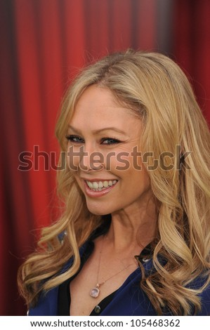 "LOS ANGELES, CA - NOVEMBER 12, 2011: Kym Johnson at the world premiere of ""The Muppets"" at the El Capitan Theatre, Hollywood. November 12, 2011  Los Angeles, CA"