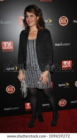 LOS ANGELES, CA - NOVEMBER 10, 2009: Nia Vardalos at TV Guide Magazine's Hot List Party at the SLS Hotel, Beverly Hills.