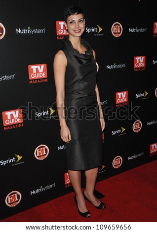 """LOS ANGELES, CA - NOVEMBER 10, 2009: """"V"""" star Morena Baccarin at TV Guide Magazine's Hot List Party at the SLS Hotel, Beverly Hills. - stock photo"""