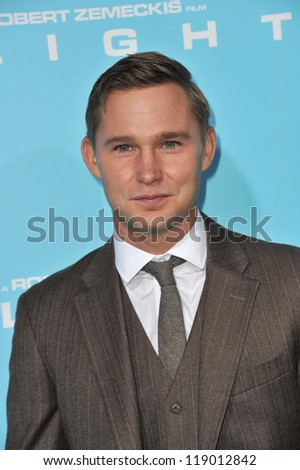 "LOS ANGELES, CA - OCTOBER 23, 2012: Brian Geraghty at the Los Angeles premiere of his new movie ""Flight"" at the Cinerama Dome, Hollywood."