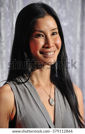LOS ANGELES, CA - OCTOBER 28, 2014: CNN journalist Lisa Ling at the 25th Courage in Journalism Awards at the Beverly Hilton Hotel.