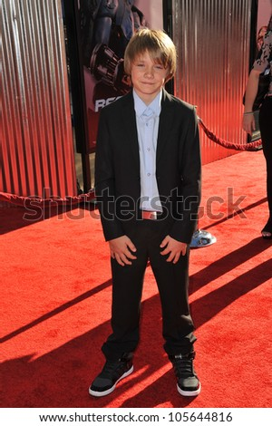 "LOS ANGELES, CA - OCTOBER 2, 2011: Dakota Goyo at the Los Angeles premiere of his new movie ""Real Steel"" at Universal Studios Hollywood. October 2, 2011  Los Angeles, CA"