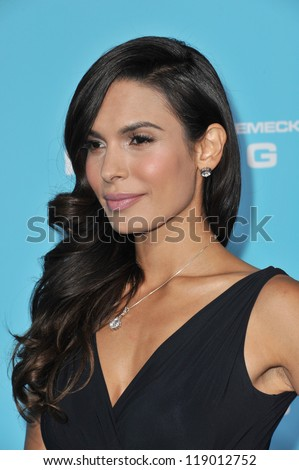 "LOS ANGELES, CA - OCTOBER 23, 2012: Nadine Velazquez at the Los Angeles premiere of her new movie ""Flight"" at the Cinerama Dome, Hollywood."