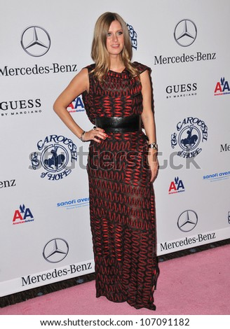 LOS ANGELES, CA - OCTOBER 23, 2010: Nicky Hilton at the 32nd Anniversary Carousel of Hope Ball at the Beverly Hilton Hotel.