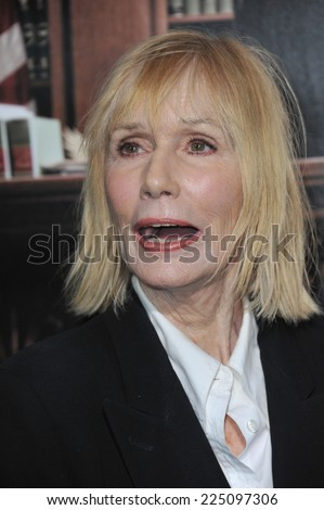 "LOS ANGELES, CA - OCTOBER 1, 2014: Sally Kellerman at the Los Angeles premiere of ""The Judge"" at the Samuel Goldwyn Theatre, Beverly Hills."
