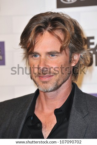 LOS ANGELES, CA - OCTOBER 16, 2010: Sam Trammell at Spike TV's 2010 Scream Awards at the Greek Theatre, Griffith Park, Los Angeles.