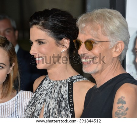 "LOS ANGELES, CA - OCTOBER 26, 2015: Sandra Bullock & Billy Bob Thornton at the premiere of ""Our Brand is Crisis"" at the TCL Chinese Theatre, Hollywood."