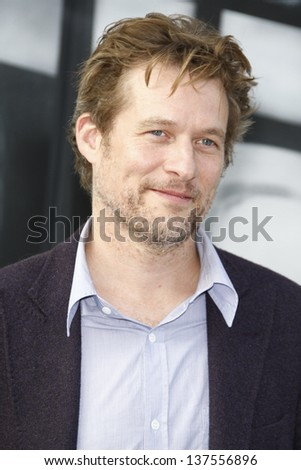 LOS ANGELES, CA - SEP 25: James Tupper at the IRIS, A Journey Through the World of Cinema by Cirque du Soleil premiere September 25, 2011 at Kodak Theater in Los Angeles, California - stock photo