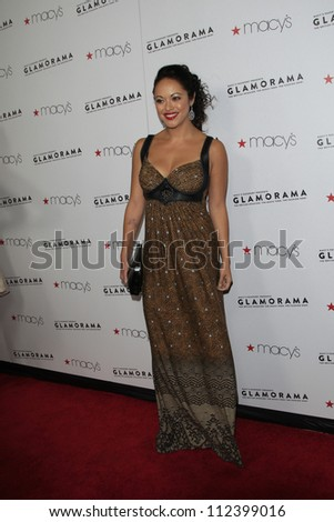 LOS ANGELES, CA - SEP 7: Marisa Ramirez at Macy's Passport Presents: Glamorama - 30th Anniversary in Los Angeles held at The Orpheum Theater on September 7, 2012 in Los Angeles, California.