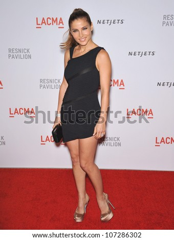 LOS ANGELES, CA - SEPTEMBER 25, 2010: Elsa Petaky at a benefit gala at  LACMA for the opening of  The Lynda & Stewart Resnick Exhibition Pavilion in Los Angeles, CA.