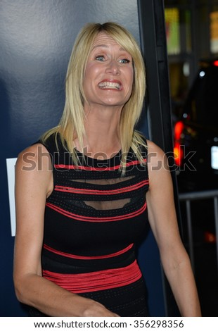 "LOS ANGELES, CA - SEPTEMBER 9, 2015: Laura Dern at the American premiere of ""Everest"" at the TCL Chinese Theatre, Hollywood.  - stock photo"