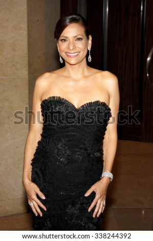 LOS ANGELES, CALIFORNIA - May 23, 2012. Constance Marie at the 37th Annual Gracie Awards Gala held at the Beverly Hilton Hotel, Los Angeles.   - stock photo