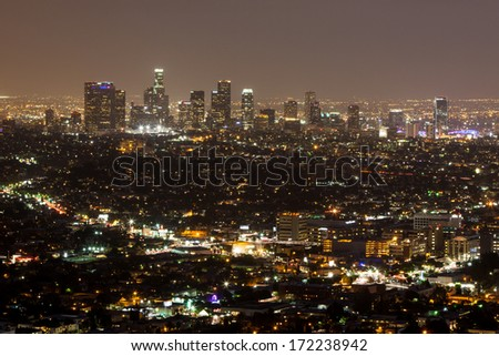 Los Angeles CBD