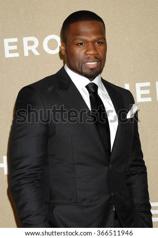 LOS ANGELES - DEC 2 - Curtis Armstrong, 50 Cent arrives at the 2012 CNN Heroes An All Star Tribute on December 2, 2012 in Los Angeles, CA              - stock photo