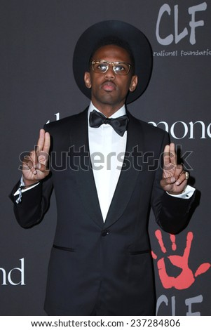 LOS ANGELES - DEC 11:  Fabolous at the Rihanna's First Annual Diamond Ball at the The Vineyard on December 11, 2014 in Beverly Hills, CA - stock photo