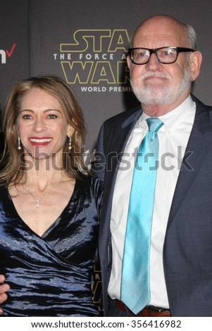 """LOS ANGELES - DEC 14:  Frank Oz at the """"Star Wars: The Force Awakens"""" World Premiere at the Hollywood & Highland on December 14, 2015 in Los Angeles, CA - stock photo"""