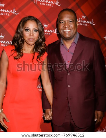los angeles dec 4 holly robinson peete rodney peete at the christmas at - The Christmas Lodge