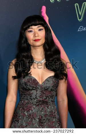 "LOS ANGELES - DEC 10:  Hong Chau at the ""Inherent Vice"" Los Angeles Premiere at the TCL Chinese Theater on December 10, 2014 in Los Angeles, CA"