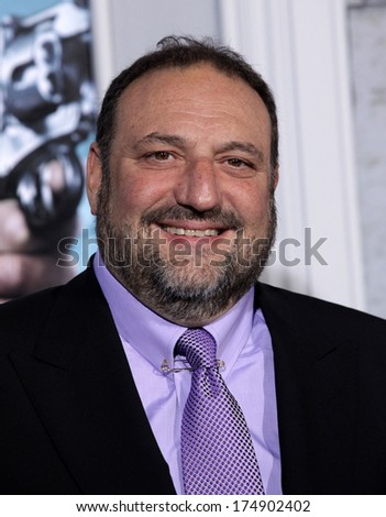 "LOS ANGELES - DEC 06:  JOEL SILVER arrives to the ""Sherlock Holmes A Game of Shadows"" Los Angeles Premiere  on December 06, 2011 in Westwood, CA                 - stock photo"