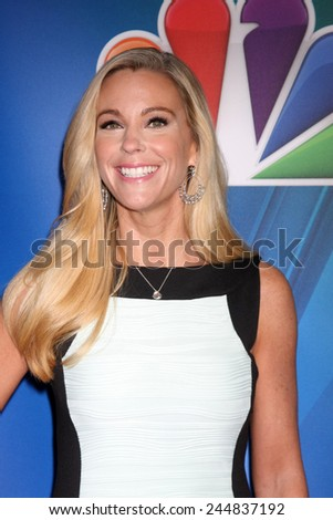 LOS ANGELES - DEC 16:  Kate Gosselin at the NBCUniversal TCA Press Tour at the Huntington Langham Hotel on December 16, 2015 in Pasadena, CA - stock photo