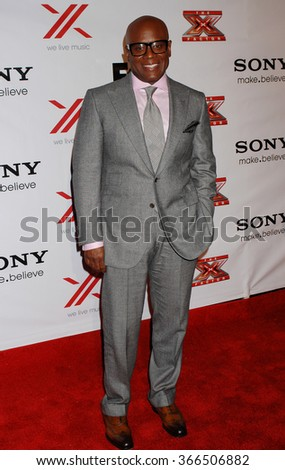 LOS ANGELES - DEC 6 - L.A. Reid arrives at the X Factor Viewing Party  on December 6, 2012 in Los Angeles, CA              - stock photo