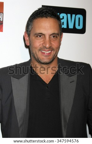 LOS ANGELES - DEC 3:  Mauricio Umansky at theThe Real Housewives of Beverly Hills Premiere Red Carpet 2015 at the W Hotel Hollywood on December 3, 2015 in Los Angeles, CA - stock photo