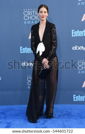 LOS ANGELES - DEC 11:  Michelle Monaghan arrives to the Critics' Choice Awards 2016 on December 11, 2016 in Hollywood, CA
